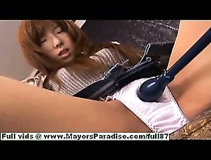 Serina Hayakaw hot girl hot Chinese student enjoys