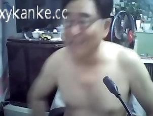masturbate;old;grandpa;daddy,Asian;Masturbation;Mature;Webcam;Solo Male Asian old man...