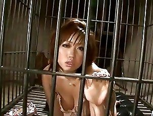 Voluptuous, Neiro Suzuka, plays with pussy in solo
