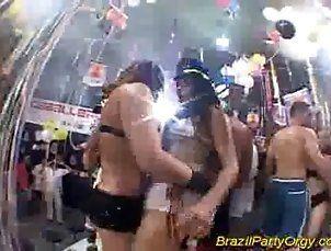 Nasty brasil orgy