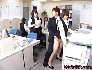 Cute Asian Secretary Fucked part2