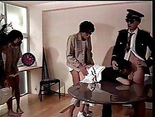 Horny Asian gives pilot an amazing blow job