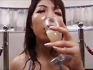 Compilation DRINKERS SEMEN Asian