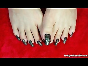feetgoddess;long;nails;feet;taiwan,Asian;Feet;Solo Female feetgoddess long...