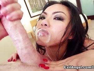 Fabulous pornstars Cindy Starfall, Chris Strokes, Mike Adriano in Crazy Big Ass, Asian porn video