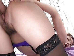 Asian;Hardcore;Stockings Three cocks...