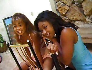 Leanni Lei and Diane Devoe Interracial Lesbians
