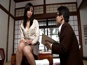 Asian Mature Teaching Boy