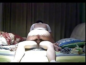 Big Ass Amateur Asian Wife in Nylons Fucked