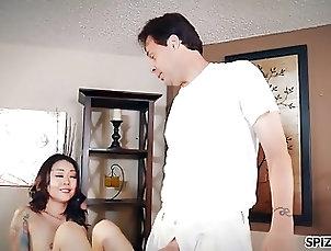 Asian;Teens;Massage;Small Tits;Big Cock;Spizoo;HD Videos;Nice Fuck Spizoo - Saya...