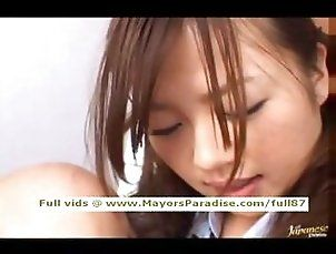 Miyu Hoshino innocent Chinese schoolgirl enjoys getting a