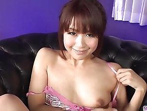 Maika sucks cock then swallows sper - More at Slurpjp.com