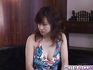 Hardcore experience for sex Japanese AV Model
