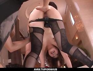 Mami Yuuki sucks the life out of her men dicks - More at 69avs com